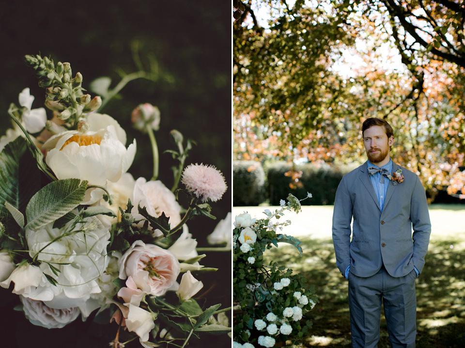 Fine Art Wedding Inspiration - An English Garden Romance With Seasonal British Blooms (Get Inspired Styled Shoots )