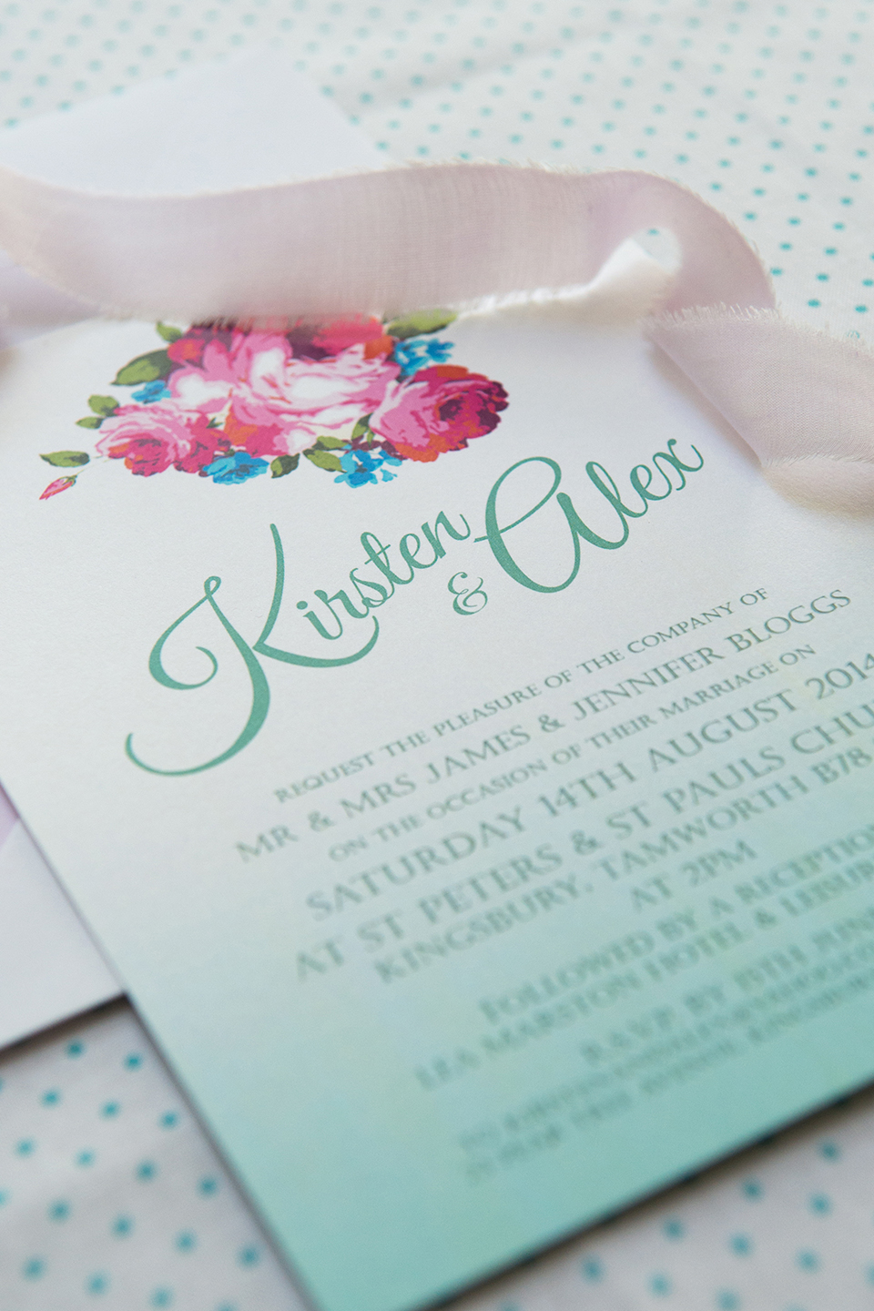 Win Wedding Stationery Worth £500 From The Wonderful Knots & Kisses
