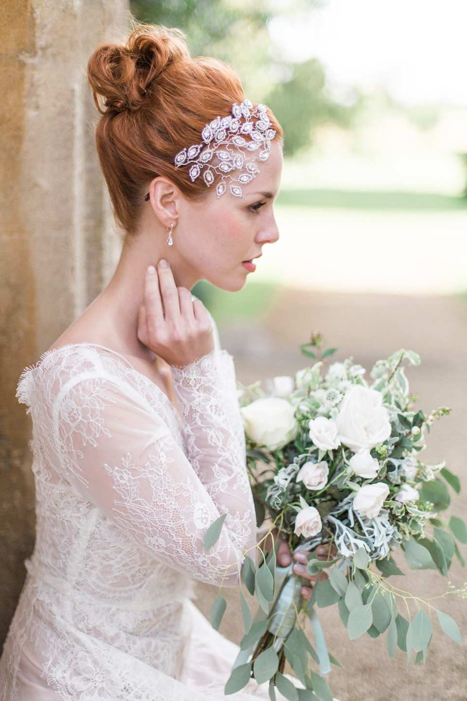 Hermione Harbutt: Nature Inspired Hair Vines and Headpieces for the Fine Art Inspired Bride (Bridal Fashion Fashion & Beauty Get Inspired Styled Shoots Supplier Spotlight )