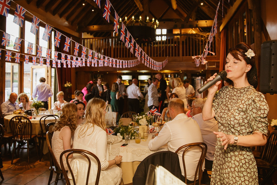A 1940s Inspired and VE Day Celebration Wedding (Weddings )