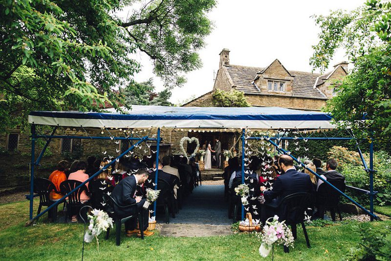 Tipis, Paper Cranes and A Halfpenny London Gown (Weddings )