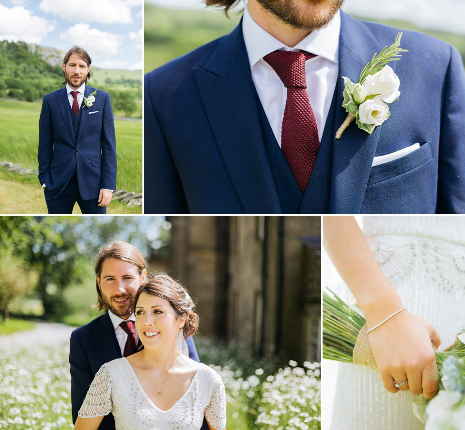 A North Yorkshire Wedding Full Pretty Pastel Shades and Bridal Glamour (Weddings )