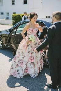 Vintage Floral Bridesmaid Dresses | Cocktail Dresses 2016