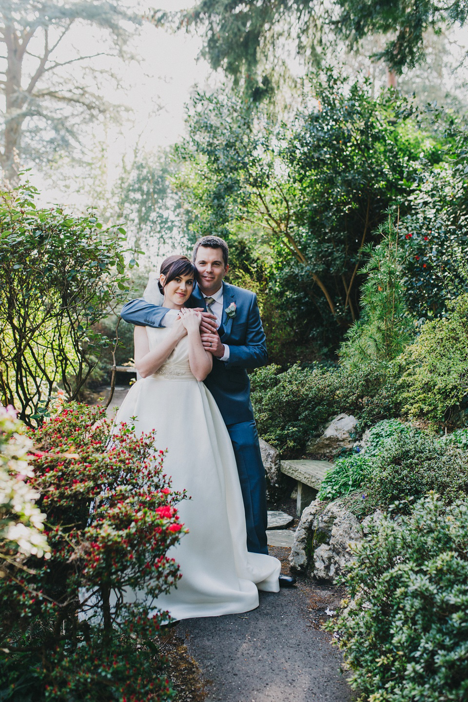 A Pronovias Gown for a Pastel Colour Japanese Garden Wedding