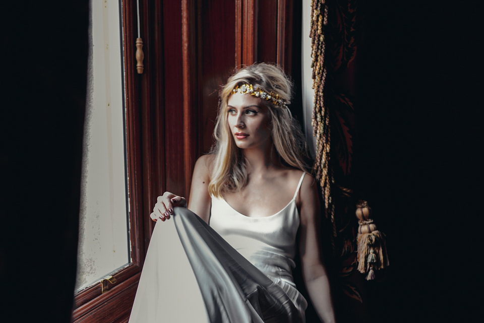 The Bohemian Bride and Shades of Winter Glamour