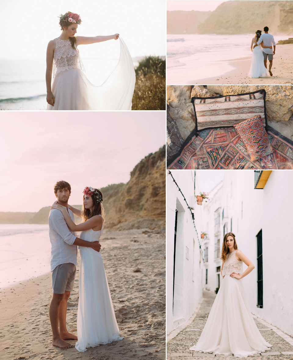 Young Love Wanderlust - A Wild and Romantic Spanish Elopement (Get Inspired Styled Shoots Supplier Spotlight )