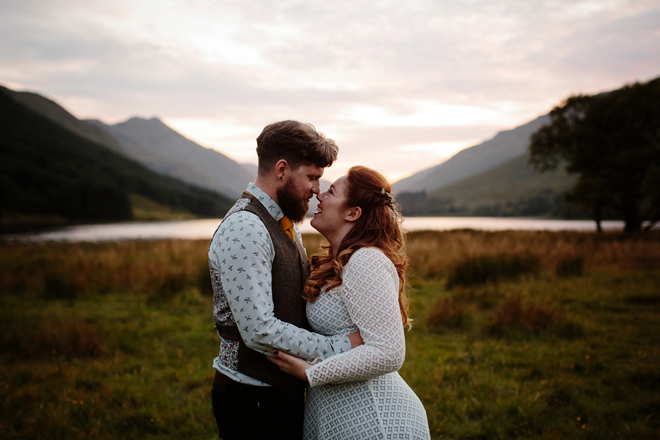 A 1970s and Icelandic Inspired Bohemian Wedding in Remote Scotland