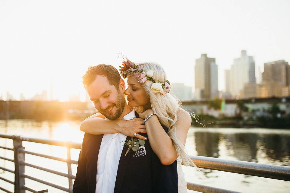 A Casual and Romantic Disused Factory Wedding in Brooklyn, New York