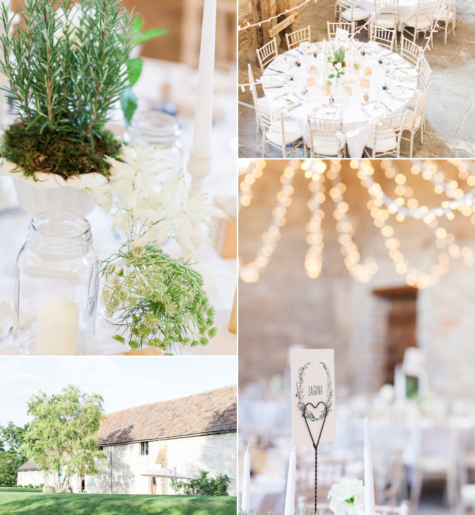 A 1970's California Inspired Bohemian Wedding at Almonry Barn in Somerset (Weddings )