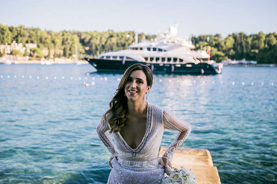 Inbal Dror Glamour for an elegant Midsummer Night's Dream Inspired Wedding (Weddings )