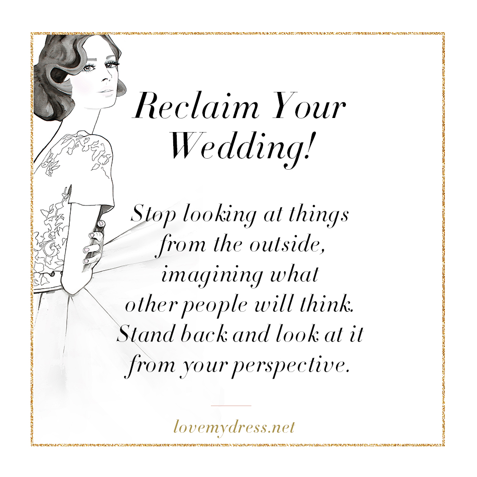 THE LOVETTES (VICKY) – Reclaim Your Wedding