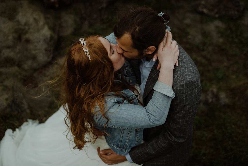 A Romantic and Atmospheric Wedding in Iceland