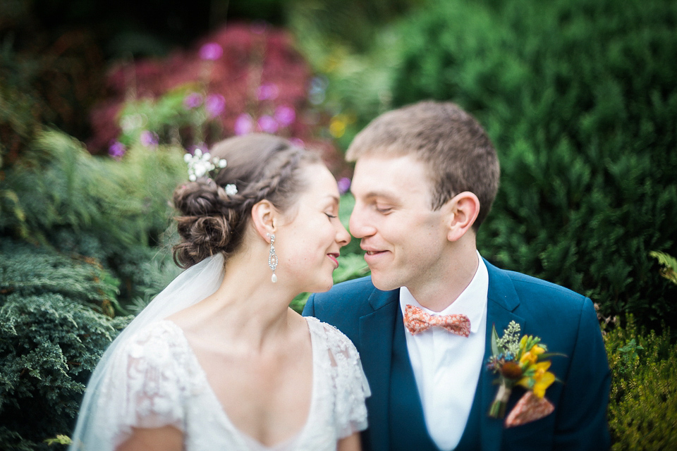An Eliza Jane Howell Gown for a Relaxed and Colourful Outdoor Scottish Wedding (Weddings )