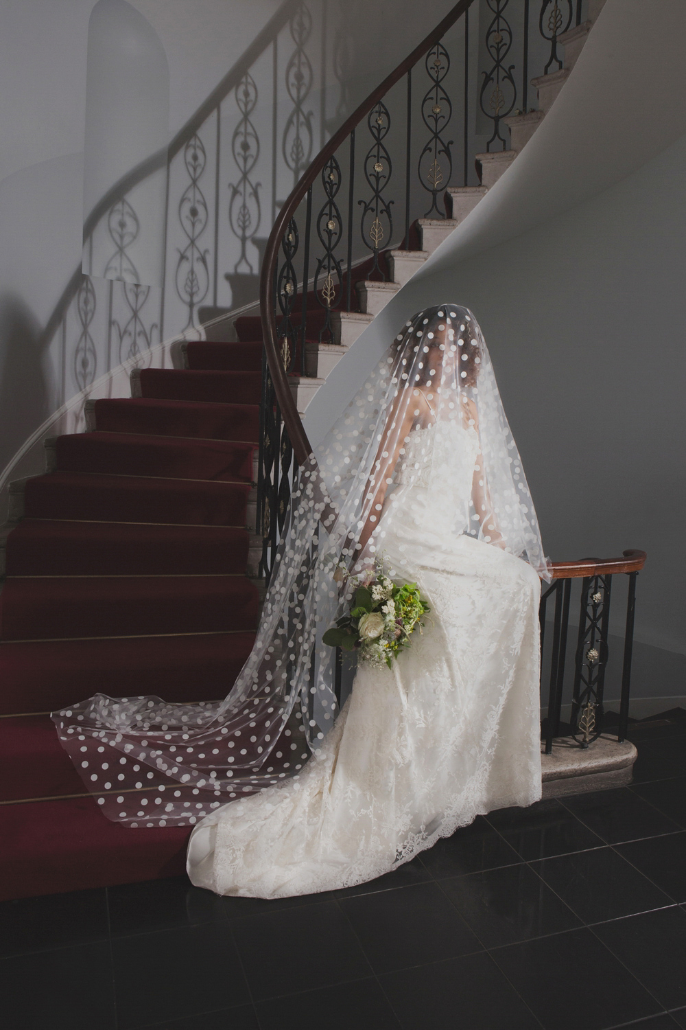 Exquisite, Elegant Wedding Veils From Halfpenny London
