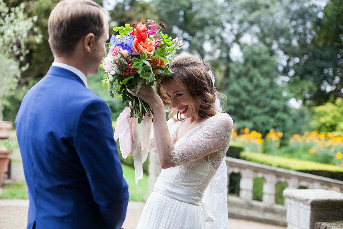 Catherine Deane and Lorie X Bridal Separates for a Bright and Colourful September Wedding