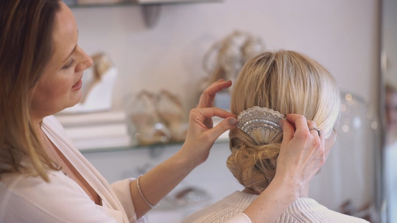 Emmy London Hair Accessories Tutorial: Art Deco