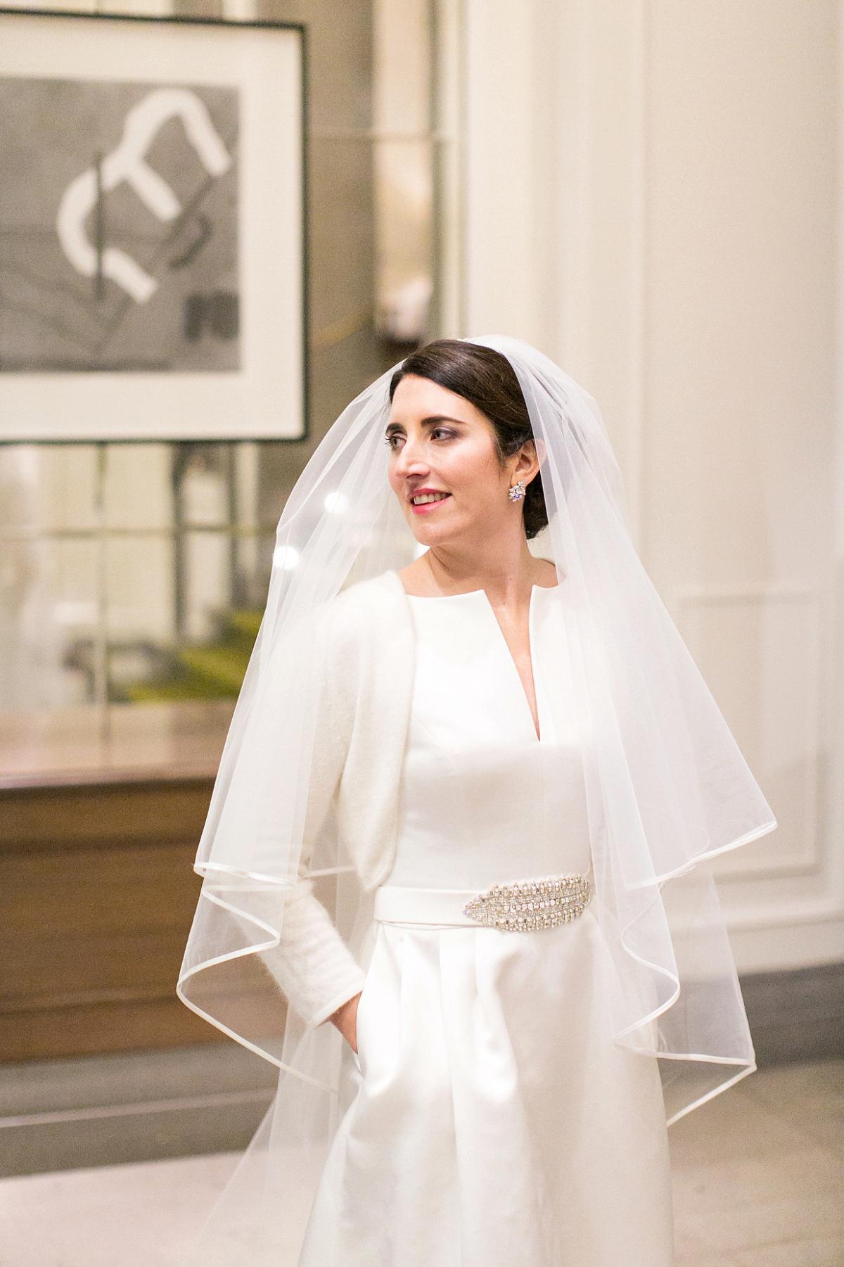 Modern Winter Wedding Dresses : Winter wedding in classic modern style love my dress? uk