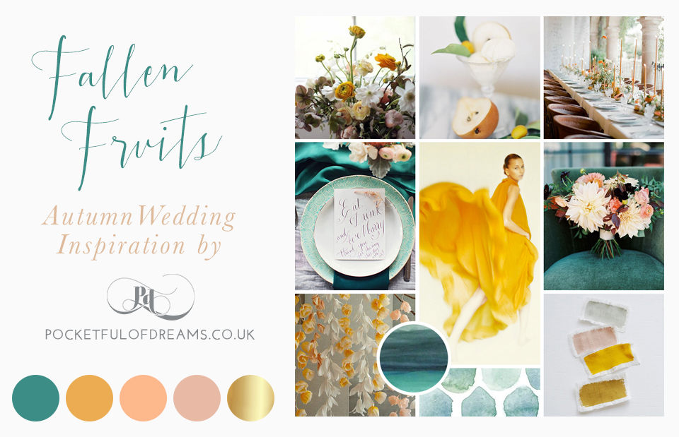 Stylish and elegant Autumn wedding inspiration