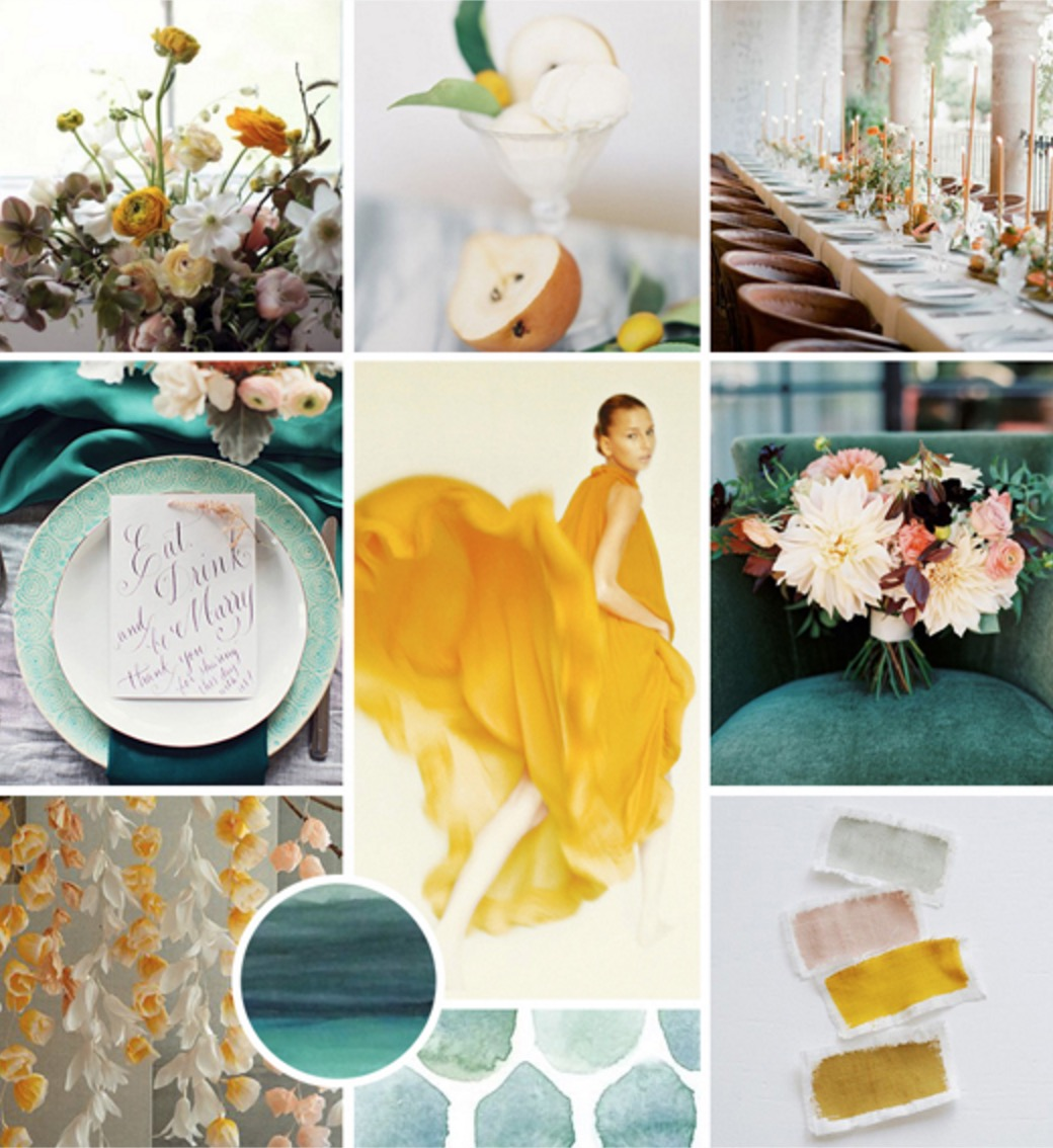 Bridal Inspiration Board Collection #88 ~ Stylish and Elegant Autumn Wedding Ideas