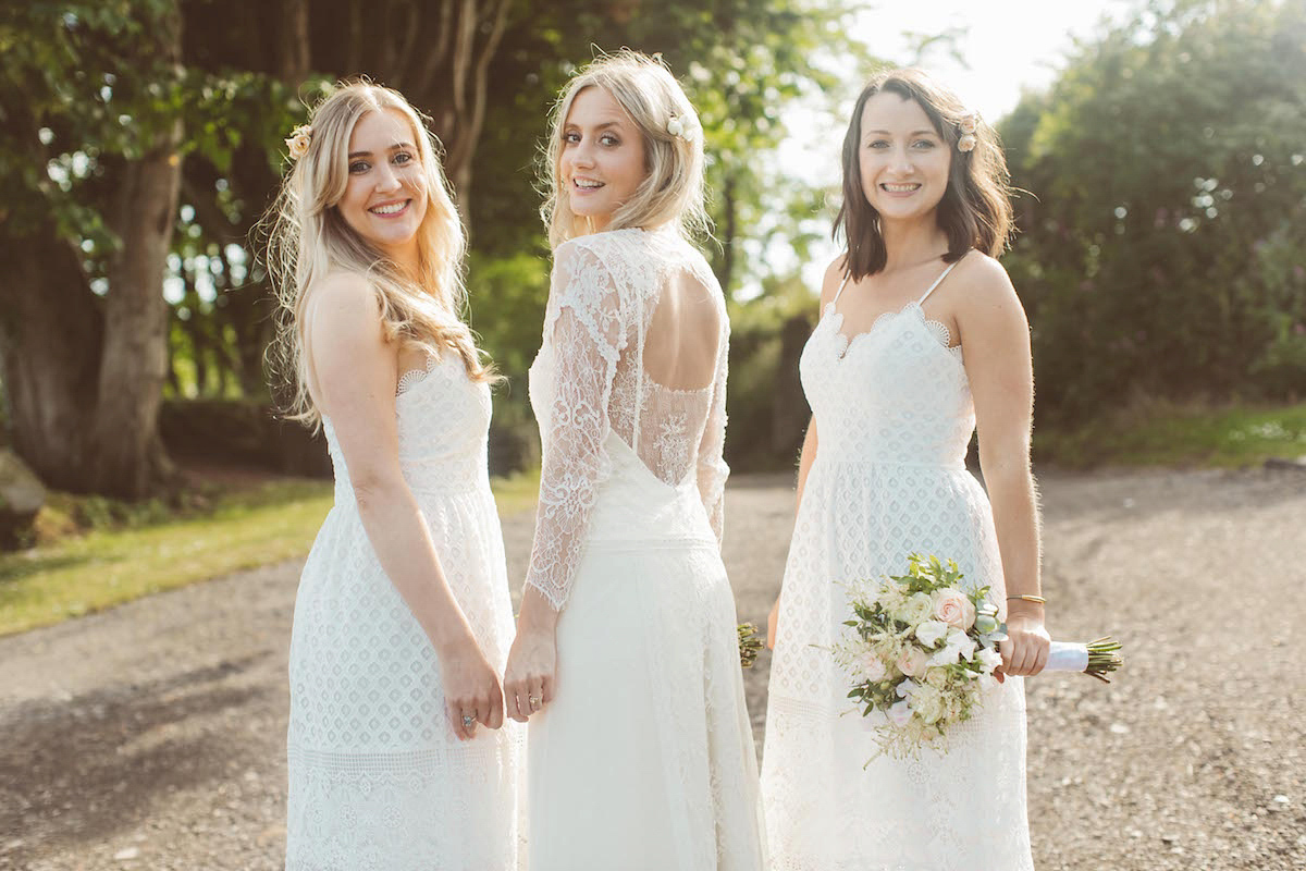 A Rembo Styling Gown For A Relaxed Family Home Wedding In Devon