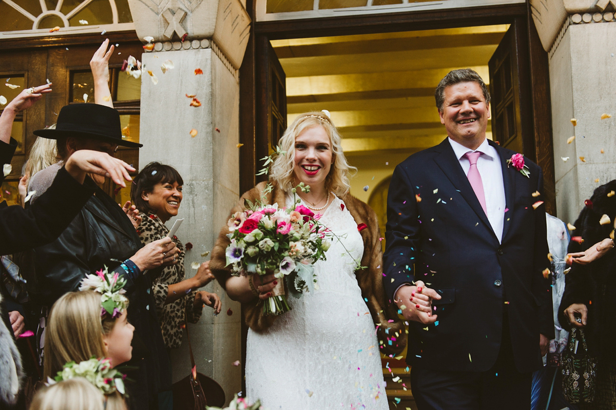 A 1930's Vintage Gown for an Ethical and Eco Inspired Wedding