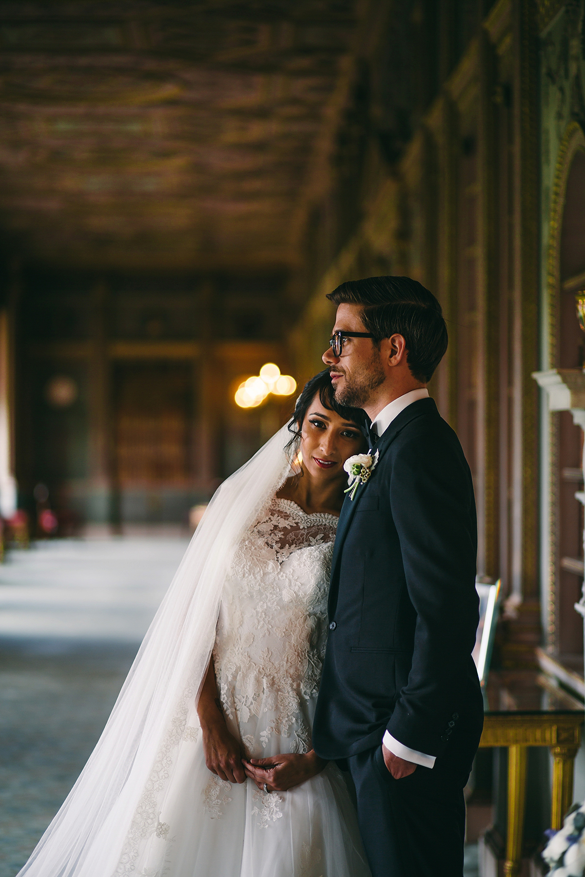 Pronovias Elegance for a Glamorous Multicultural Wedding at Syon Park in London (Weddings )