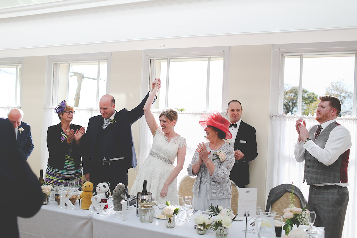 An Elegant and Romantic Spring Wedding at Pembroke Lodge (Weddings )