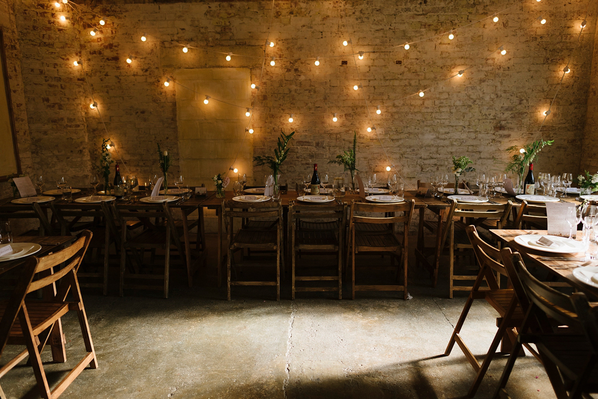 A J.Crew Dress For A Laid-Back and Modern London Warehouse Wedding (Weddings )
