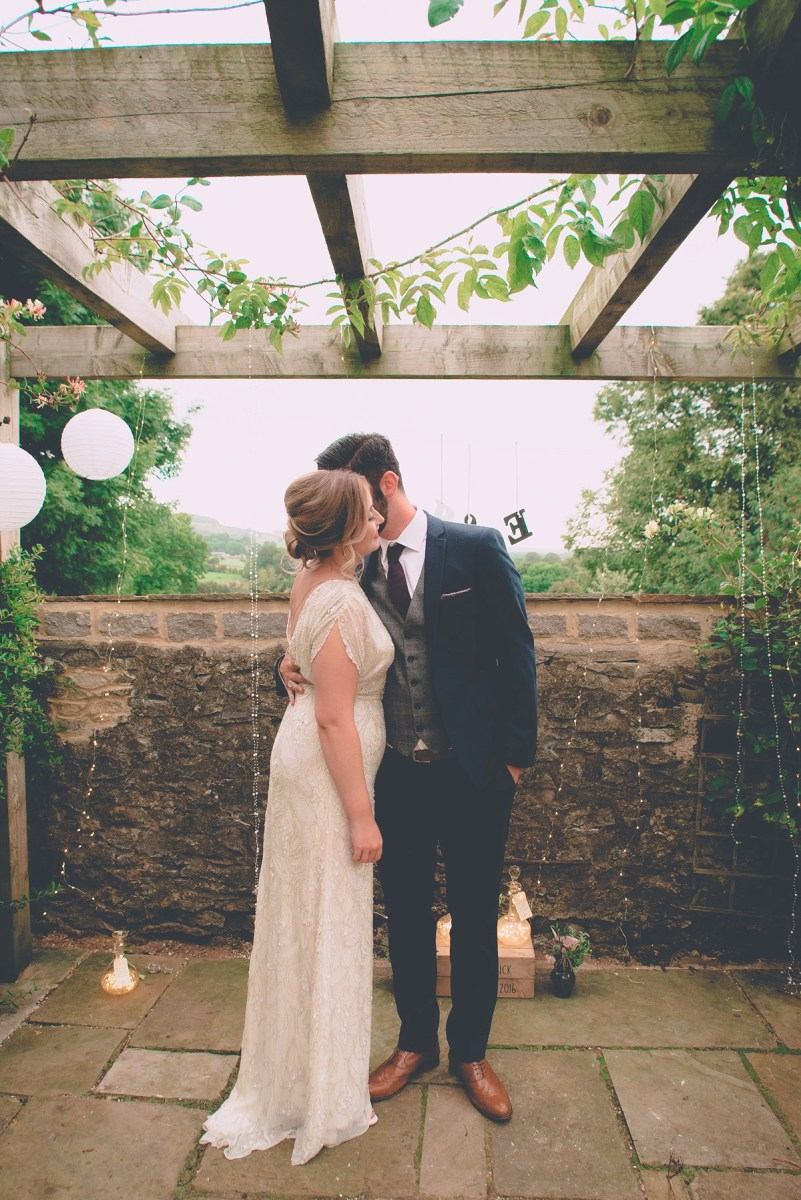 Harlow by Jenny Packham for a Sweet and Intimate Country Wedding