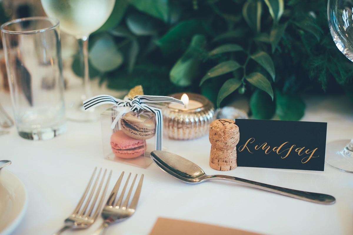 A Vintage Glam Inspired City Wedding (Weddings )