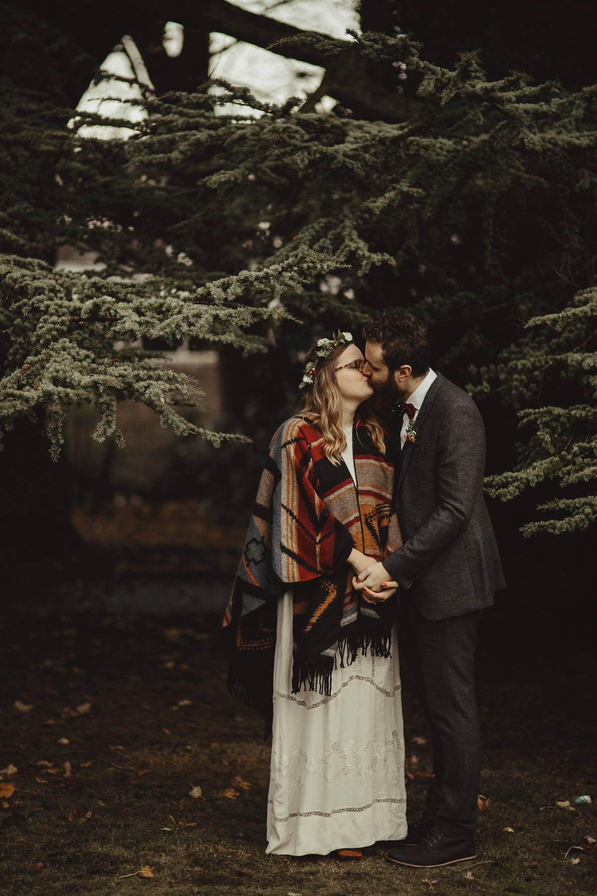 An ASOS Wedding Dress for a Woodland Inspired Autumn Wedding