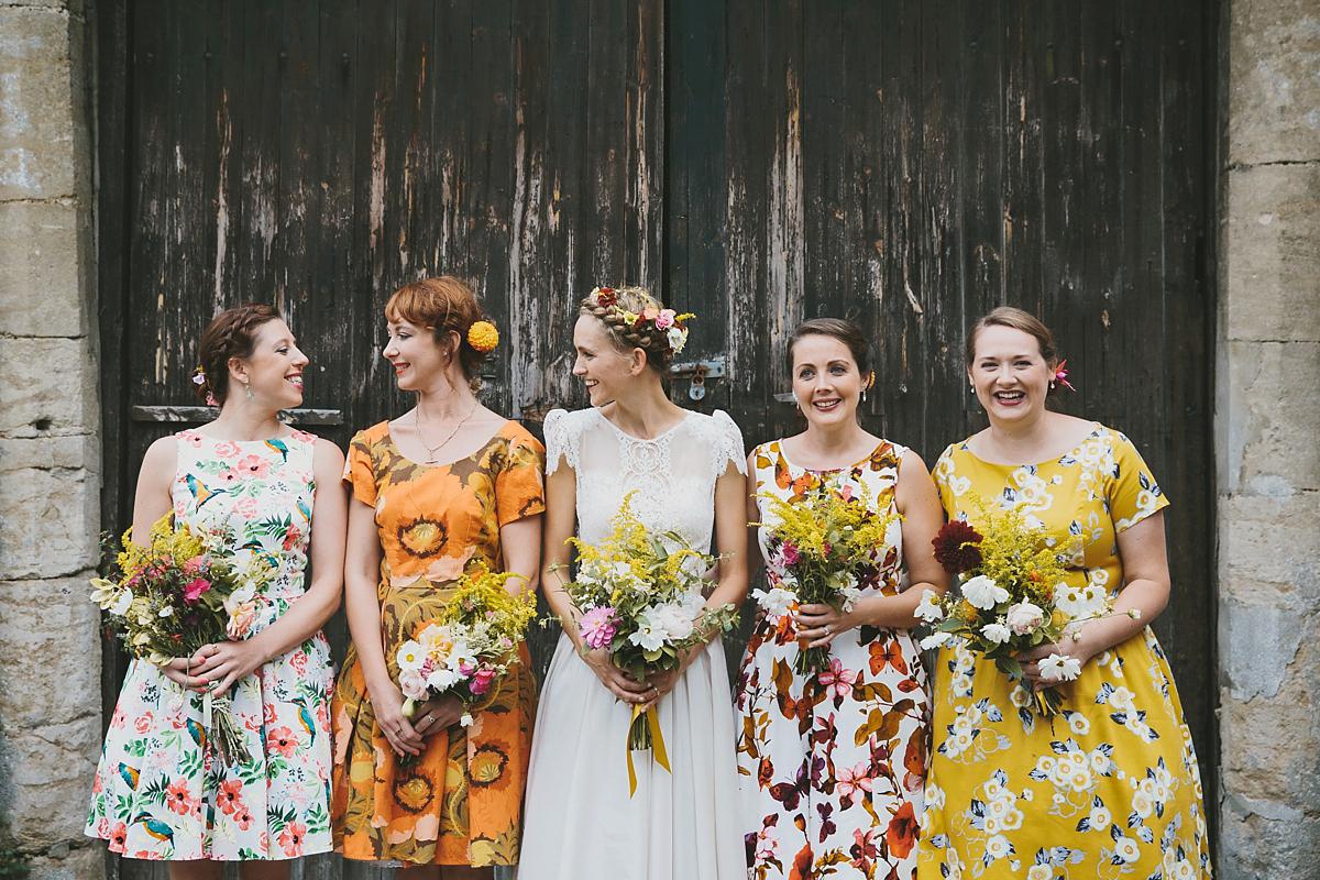 Katya Katya Shehurina Lace for Romantic Somerset Countryside Wedding