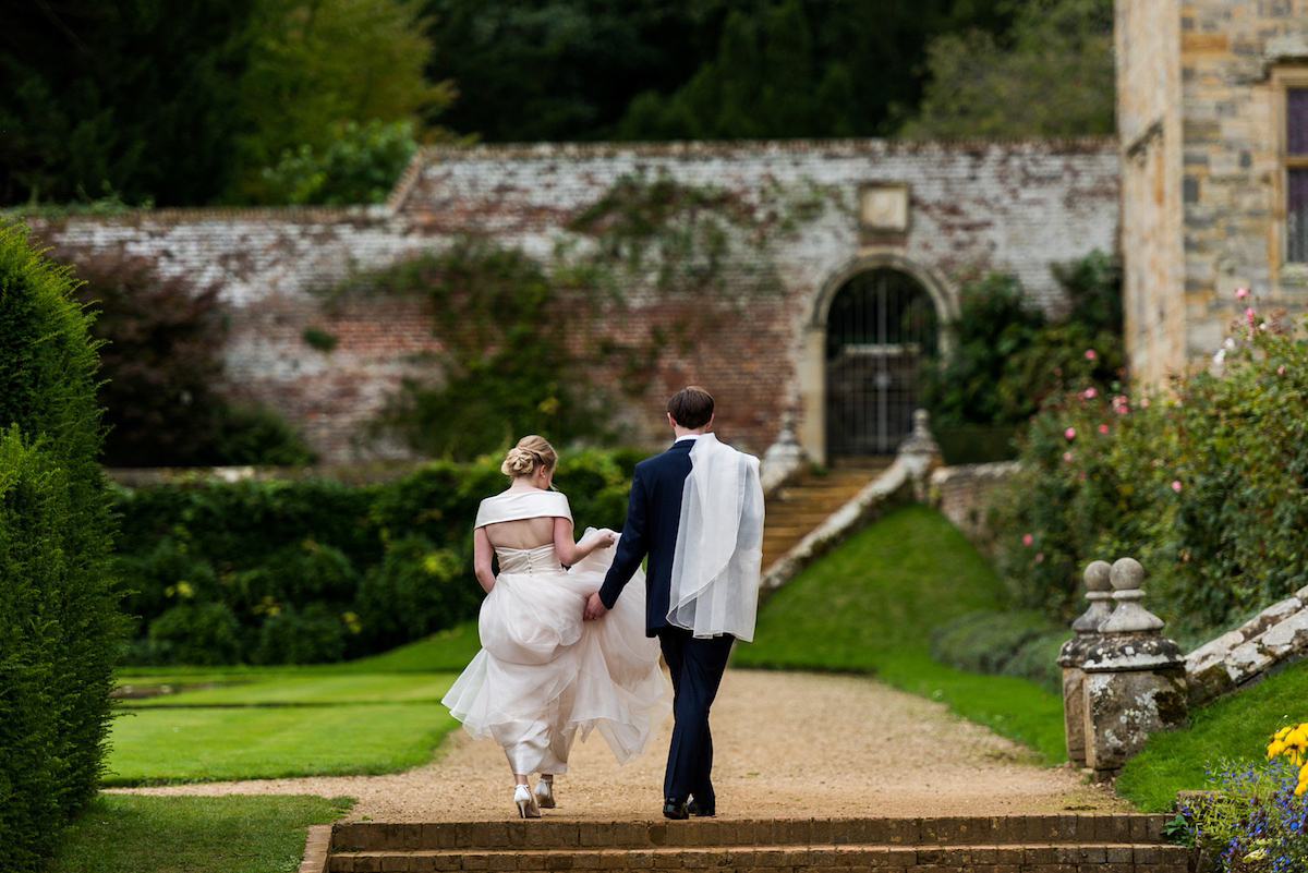 A Blush Pink Dress For A Romantic English Country Wedding (Weddings )