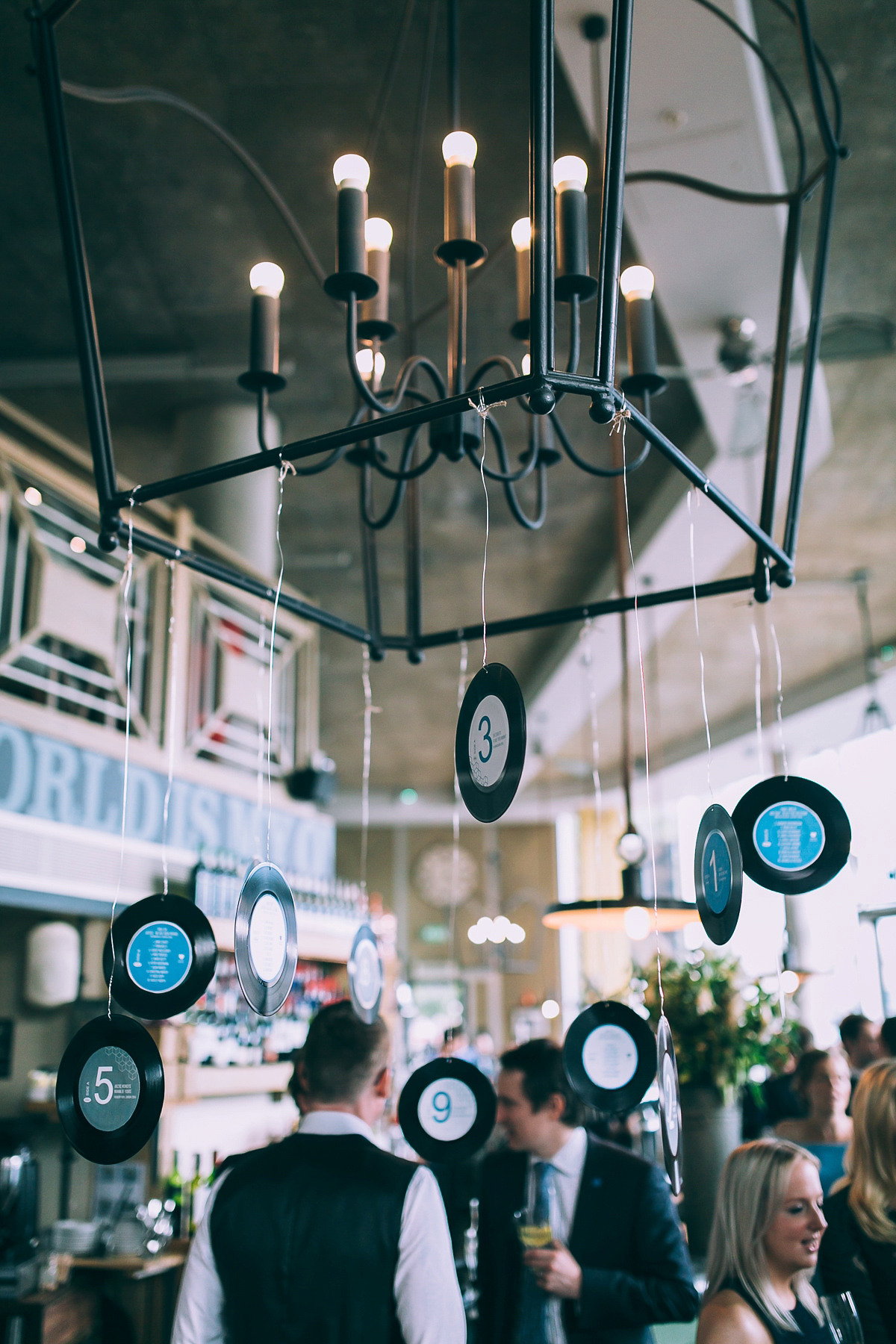 Charlie Brear Separates for a Music and Vinyl Inspired Wedding (Weddings )