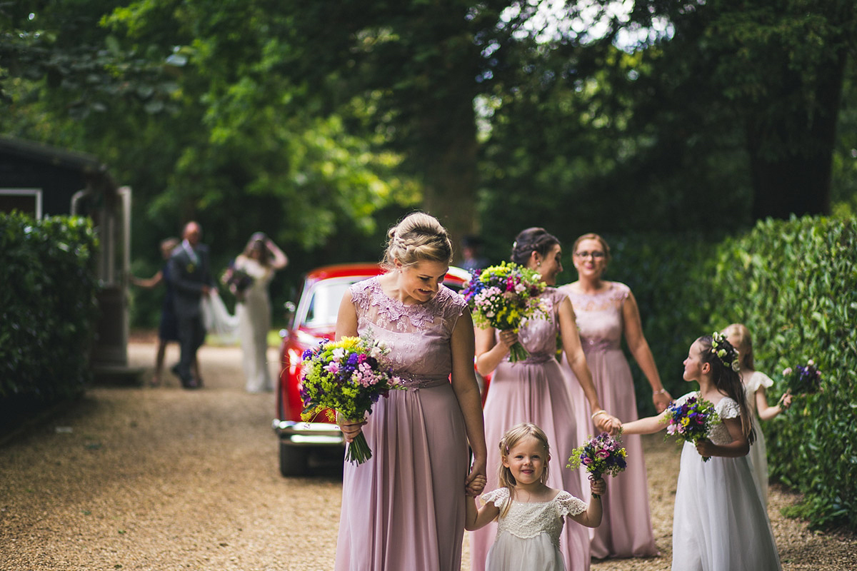 A Bride in Catherine Deane for a Midsummer Night's Dream Inspired Garden Wedding (Weddings )