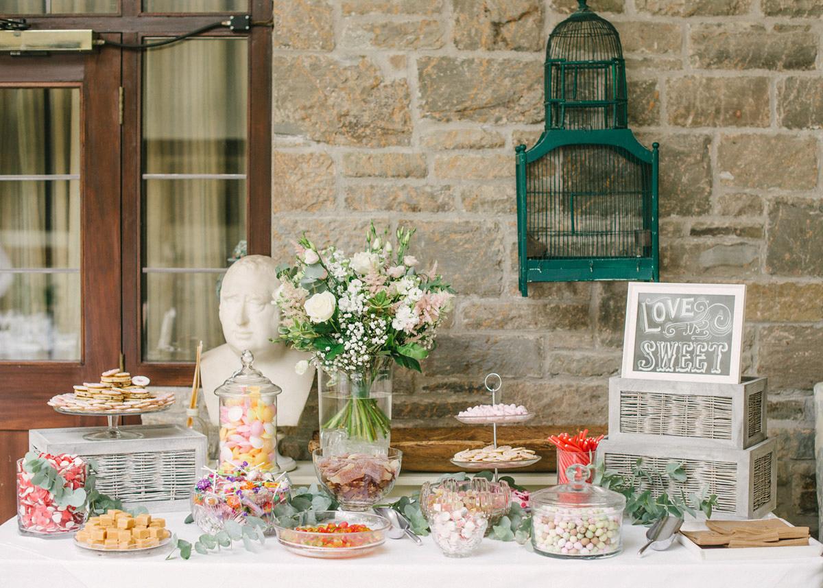 Stephanie Allin for an Elegant Country House Wedding (Weddings )