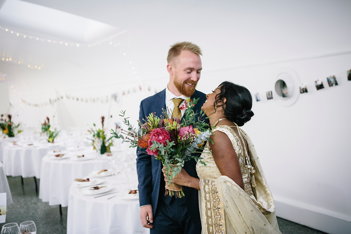 A Tropical Inspired Multicultural Fusion Wedding (Weddings )