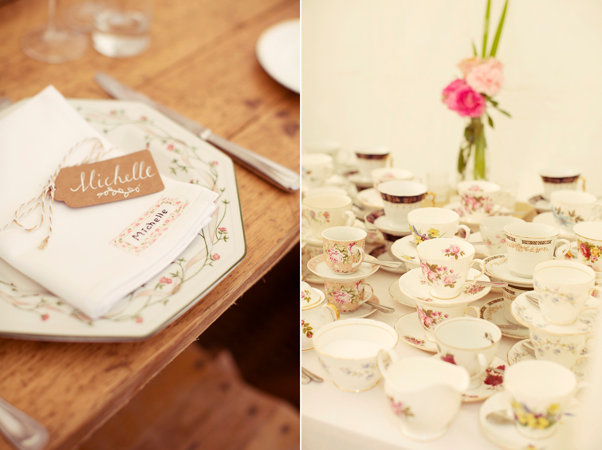 Claire Pettibone Lace for a Quintessentially English Country Garden Wedding (Weddings )