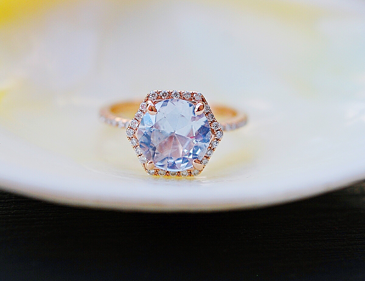 win a beautiful and unique gemstone engagement ring worth