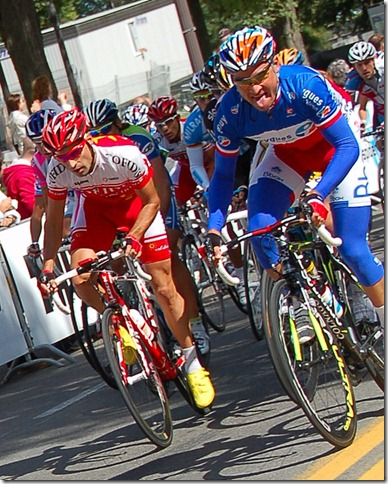 voeckler takes off by  Jean-Francois Lafrance