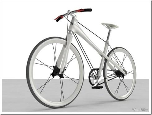 City bike wire bike