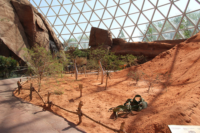 The Desert Dome at Omaha's Henry Doorly Zoo