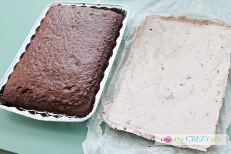 Delicious 7 Layer Ice Cream Cake Recipe - loveourcrazylife