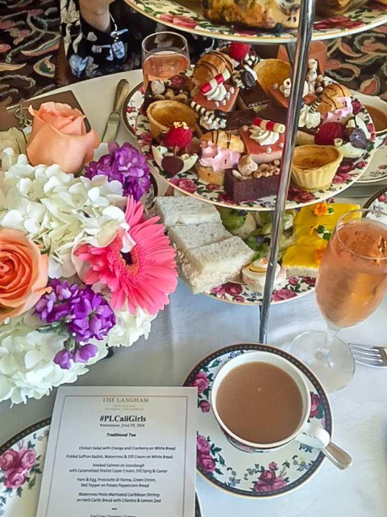 the langham tea brunch