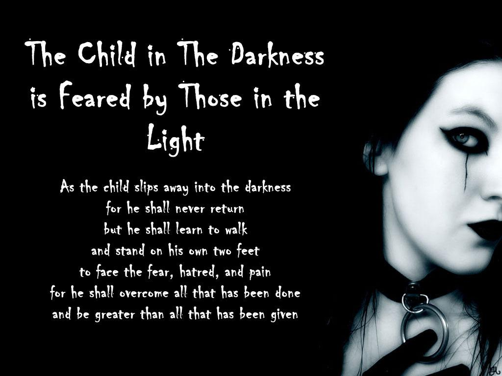 Heartbreak Wallpapers With Quotes In Hindi The Child In Darkness Poem Choking Darkness Dark