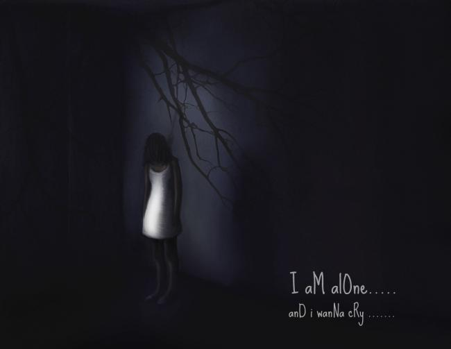 Lonely Girl Wallpaper With Quotes Wanna Die Dimithri Brandy Sad Picture Lover Of Sadness