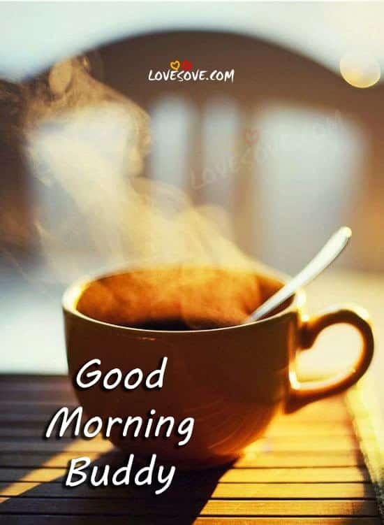 Gud Morning Wallpaper With Quotes In Hindi Good Morning Buddy Wish Lovesove Com 169 2018