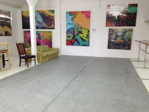 Dance Floor at 276 Art Studio