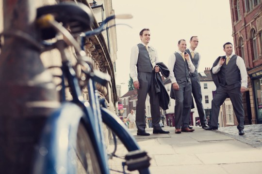 york wedding photographers, vintage wedding photography, quirky wedding photography, wedding bikes