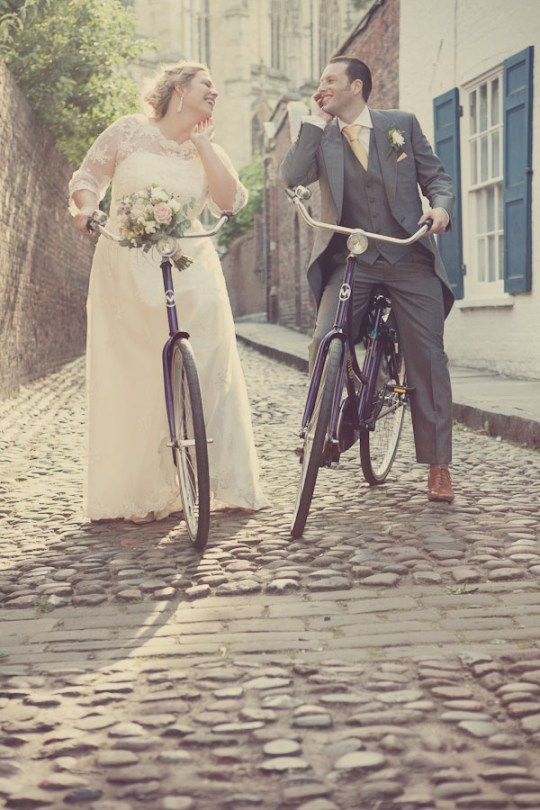 vintage wedding bikes photoshoot, york wedding photographers, vintage wedding photography, quirky wedding photography